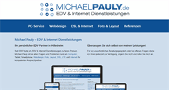 Preview of michaelpauly.de