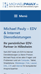 Mobile Preview of michaelpauly.de