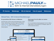 Tablet Preview of michaelpauly.de